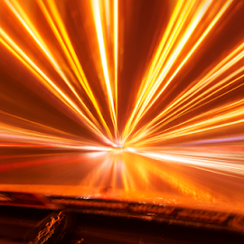 speed of light by Andrew Micheal - Abstract Light Painting
