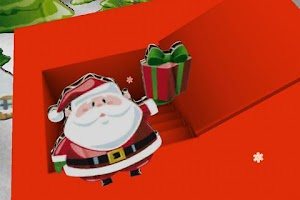 Screenshot of AR-App - Christmas Greetings