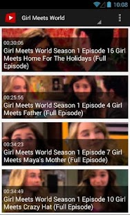 Channel Of Girl Meets World - screenshot