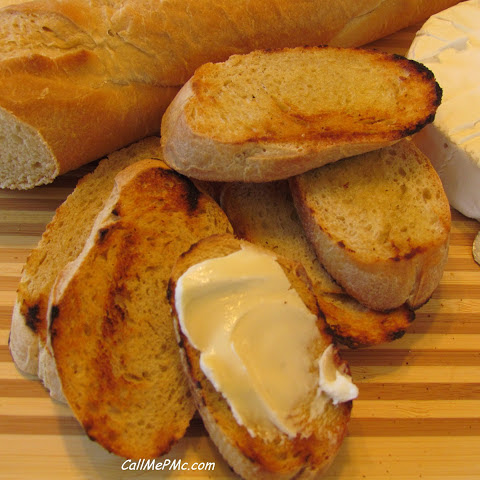 Brie and Toasted Baguette