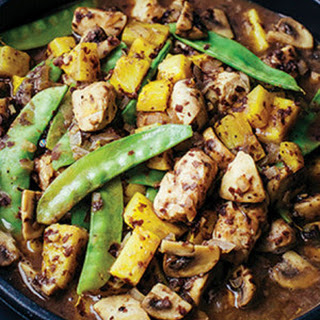 Pineapple Chicken Stir-Fry with Black Bean Sauce