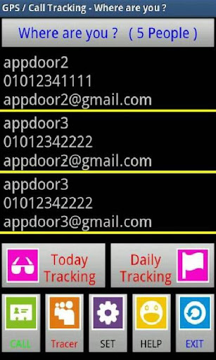 GPS Call Tracking-Where are U
