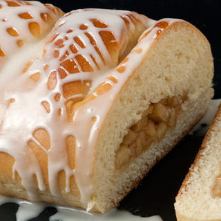 Braided Coffee Cake with Apple-Ginger Filling