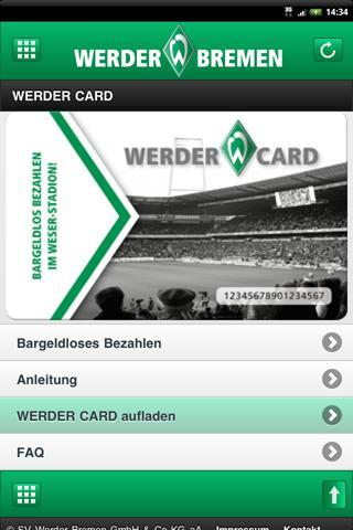 【免費運動App】SV Werder Bremen-APP點子