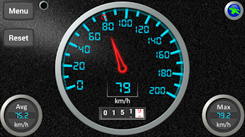 Screenshot of DS Speedometer