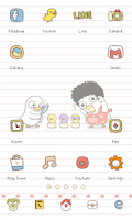 Screenshot of The ugly duckling icon theme