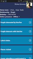 Screenshot of Friends Watcher