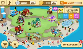 Screenshot of Tap Resort Party
