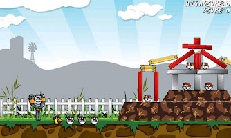 Screenshot of Angry Farm - Free Game