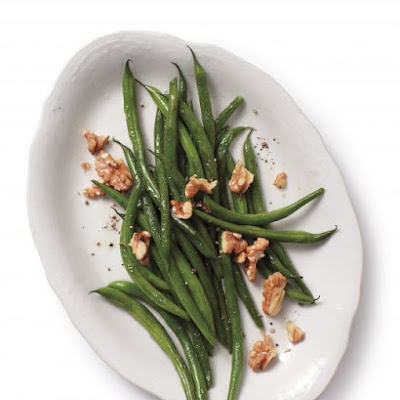 Sauteed Green Beans with Walnuts