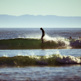 Hangin' by Connor Dann - Sports & Fitness Surfing ( 5d mark ii, canon, rincon, surf, 400mm,  )