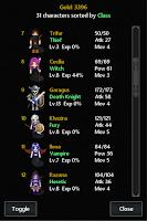 Screenshot of Kingturn Underworld RPG