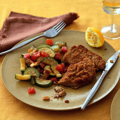 Schnitzel and Veggies