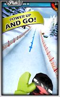 Screenshot of Snow Racer Friends Free