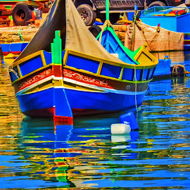 by Charlene Abela - Transportation Boats