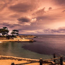 Lover's Point by Nandish Desai - Landscapes Beaches