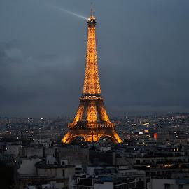 Eiffel tower by Karli Kridler - Landscapes Travel