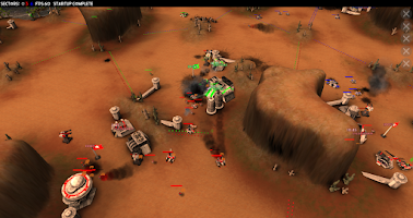 Screenshot of ProjectY RTS 3d -public beta-