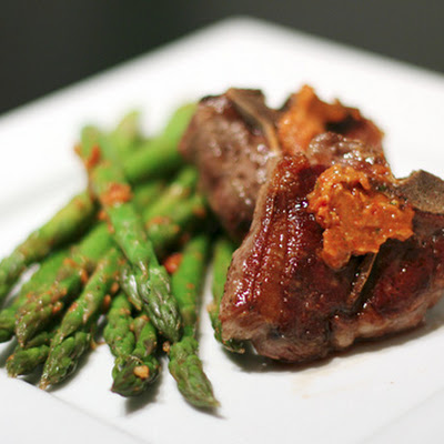 Lamb Chops with Sun-Dried Tomato Butter