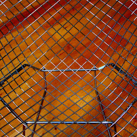 diamond chair by Harry Bertoia, aerial view by Isabella Scotti - Abstract Patterns (  )