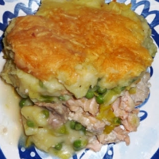 Irish fish pie (Ierse visschotel)