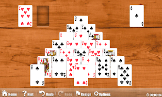 Screenshot of Astraware Solitaire
