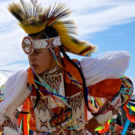 Pow Wow Pride by Barbara Brock - News & Events US Events ( dancing, costumes, american indian, pow wow, native american )