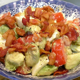 MARK'S BACON, EGG, AVOCADO AND TOMATO SALAD