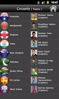 Screenshot of Criconly Cricket Scores & News