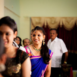 A smile to die for by Bharath Venkatesh - Wedding Reception