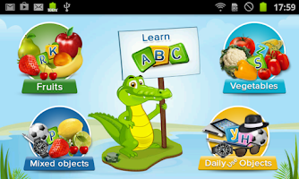 Screenshot of Kids Fruits Alphabets Musical