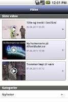 Screenshot of Stavanger Aftenblad