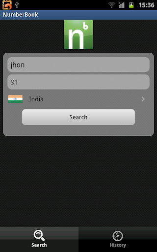 numberbook for android screenshot