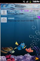 Screenshot of GO SMS Nemo Theme