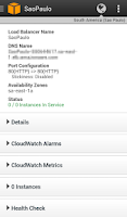 Screenshot of AWS Console