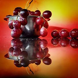 Grapes still life by Janette Ho - Food & Drink Fruits & Vegetables (  )