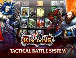 Screenshot of Elemental Kingdoms (CCG)