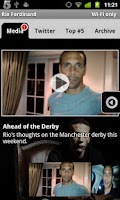 Screenshot of Rio Ferdinand