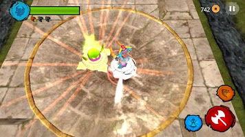 Screenshot of Beyblade BeyWarriors