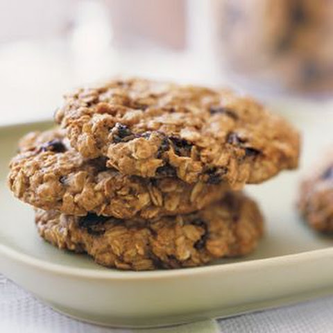 Healthy Oatmeal-Raisin Cookies