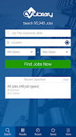 Screenshot of CV-Library Job Search