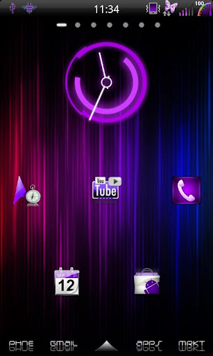 Mixer Purple - CM7 Theme