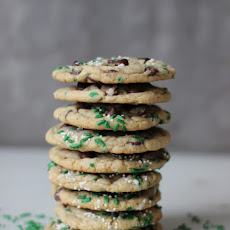 St. Patrick's Day Funfetti Chocolate Chip Cookies