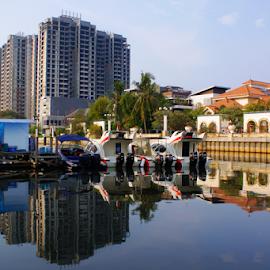 Port by Saatdul Ibat - Landscapes Travel (  )