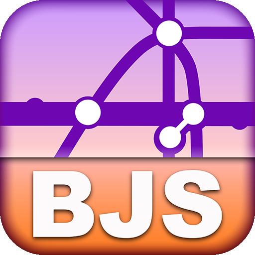 Beijing Transport Map - Free