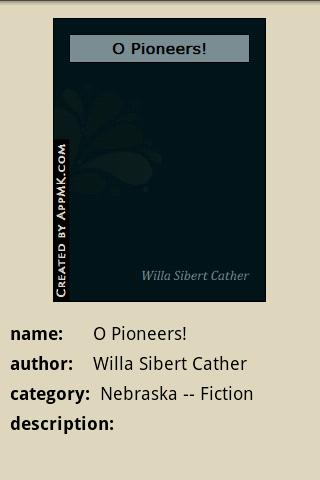 玩免費書籍APP|下載O Pioneers! app不用錢|硬是要APP