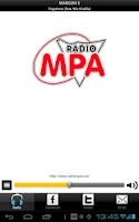 Screenshot of Radio MPA