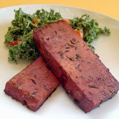 Red Wine Marinated Tofu