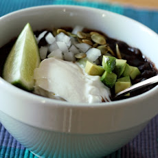 Hurry-Up Black Bean Soup