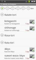Screenshot of Aikido Test 5 kyu